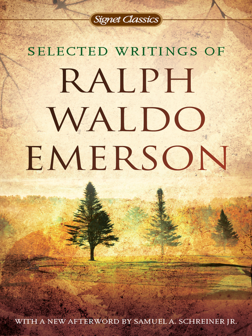 the essays of ralph waldo emerson notes Ralph emerson looked into the future ralph waldo emerson would prove to be one of the most prominent transcendentalists of his time premium essays ap notes.