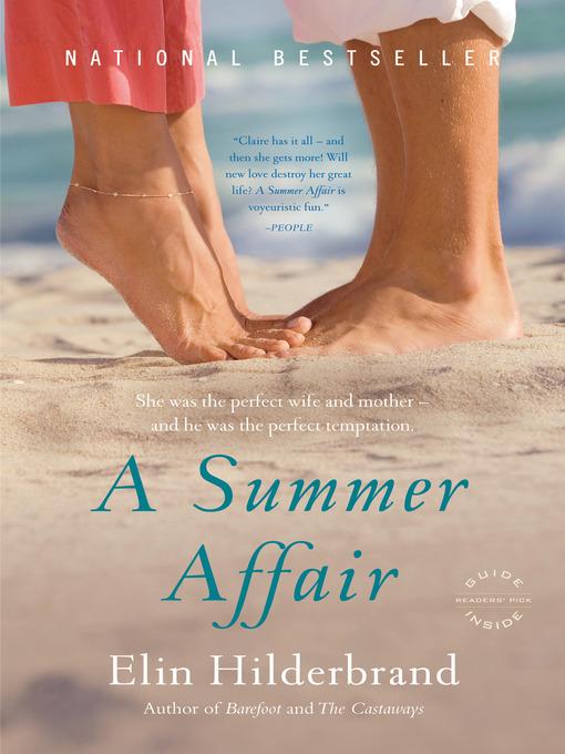 Title details for A Summer Affair by Elin Hilderbrand - Wait list