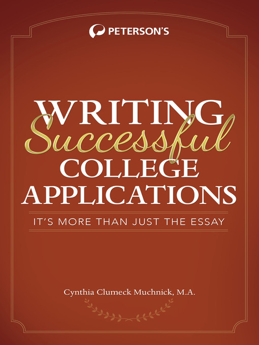 college application writing tips