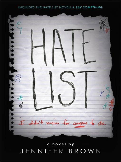 Title details for Hate List by Jennifer Brown - Wait list