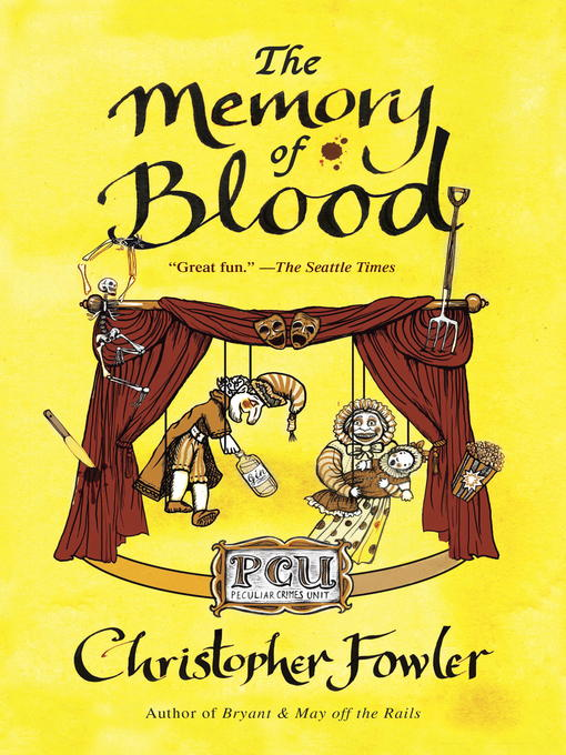Title details for The Memory of Blood by Christopher Fowler - Wait list