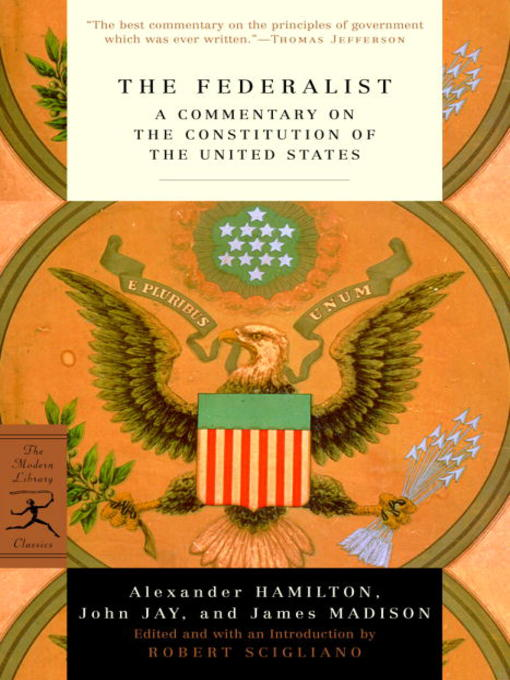 Title details for The Federalist by Alexander Hamilton - Available