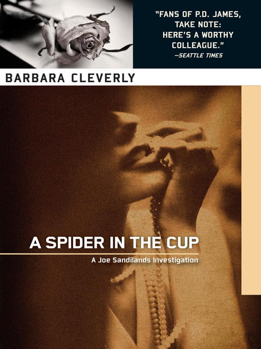 Title details for A Spider in the Cup by Barbara Cleverly - Available
