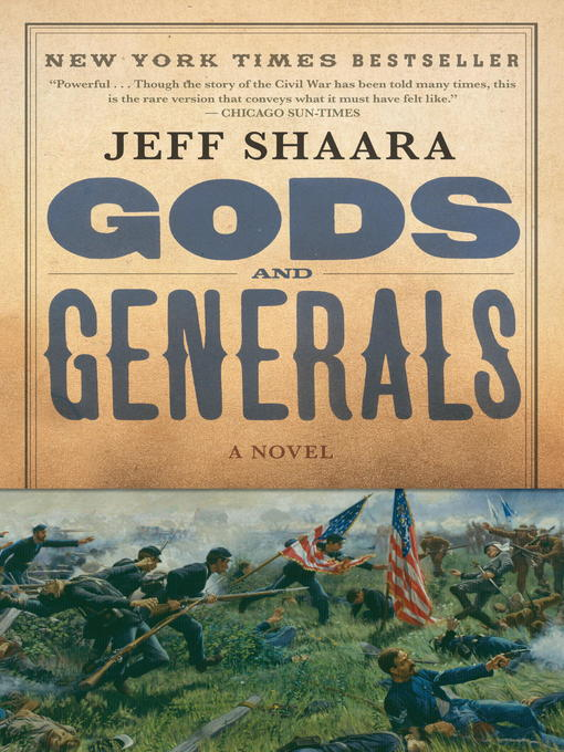 Title details for Gods and Generals by Jeff Shaara - Available