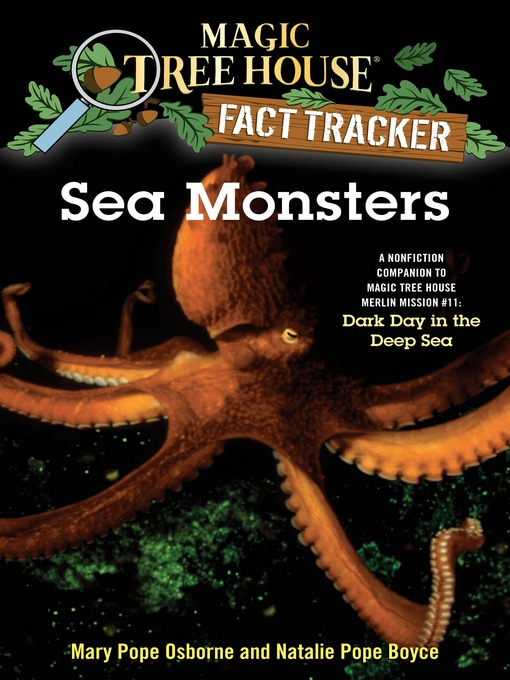 Title details for Sea Monsters by Mary Pope Osborne - Available