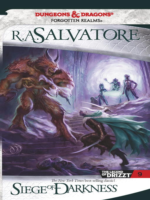 Title details for Siege of Darkness by R.A. Salvatore - Available