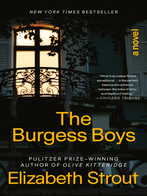 Title details for The Burgess Boys by Elizabeth Strout - Available