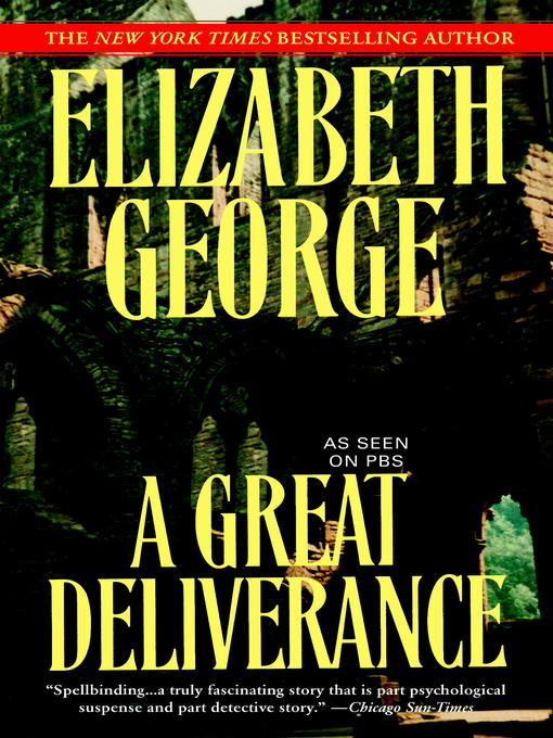 Title details for A Great Deliverance by Elizabeth George - Wait list