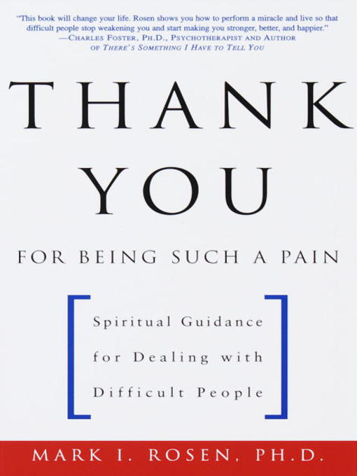 Title details for Thank You for Being Such a Pain by Mark Rosen - Available
