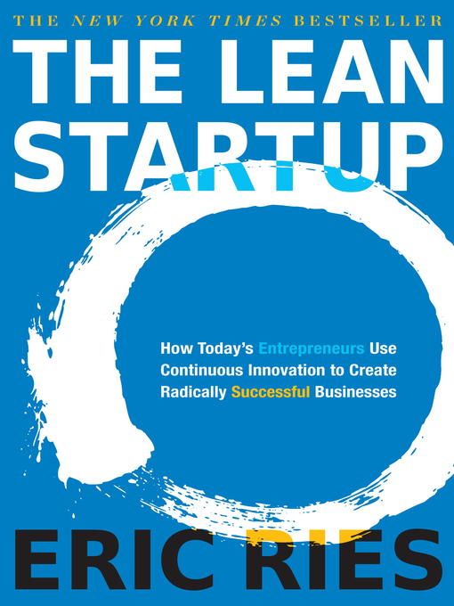 Title details for The Lean Startup by Eric Ries - Wait list