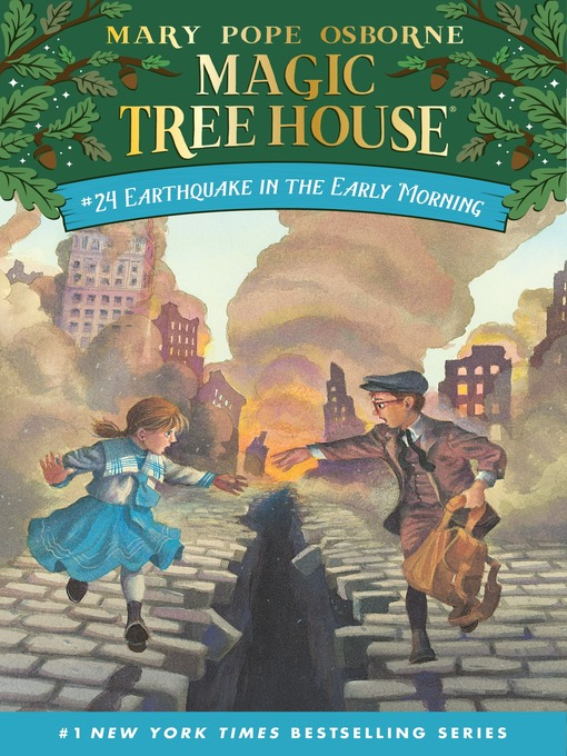 Title details for Earthquake in the Early Morning by Mary Pope Osborne - Available