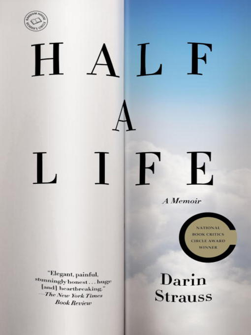 Title details for Half a Life by Darin Strauss - Wait list