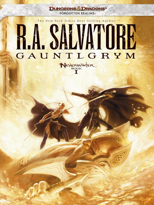 Title details for Gauntlgrym by R.A. Salvatore - Wait list