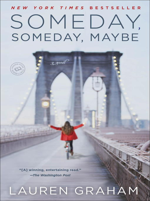 Title details for Someday, Someday, Maybe by Lauren Graham - Wait list