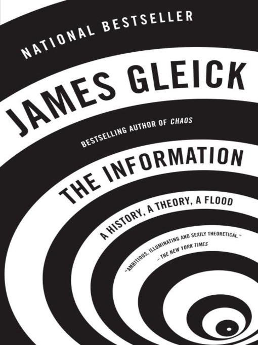 Title details for The Information by James Gleick - Available