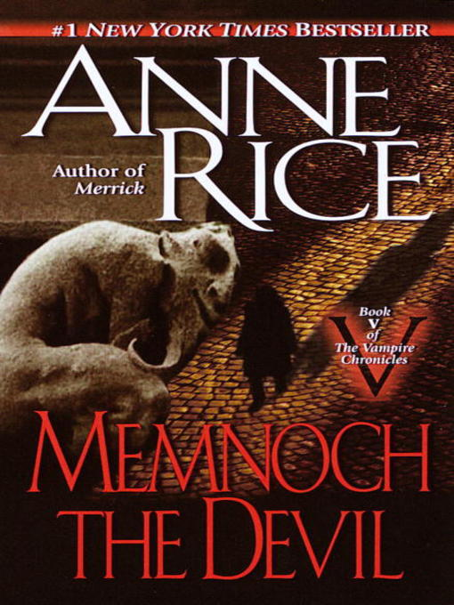 Title details for Memnoch the Devil by Anne Rice - Available