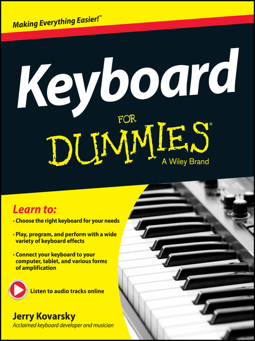Title details for Keyboard For Dummies by Jerry Kovarsky - Available
