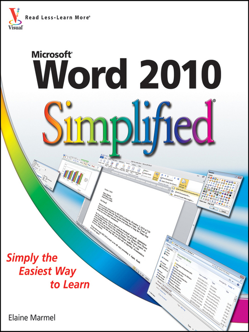 Title details for Word 2010 Simplified by Elaine Marmel - Available