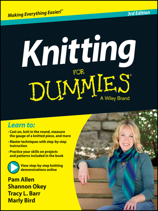 Title details for Knitting For Dummies by Allen - Available