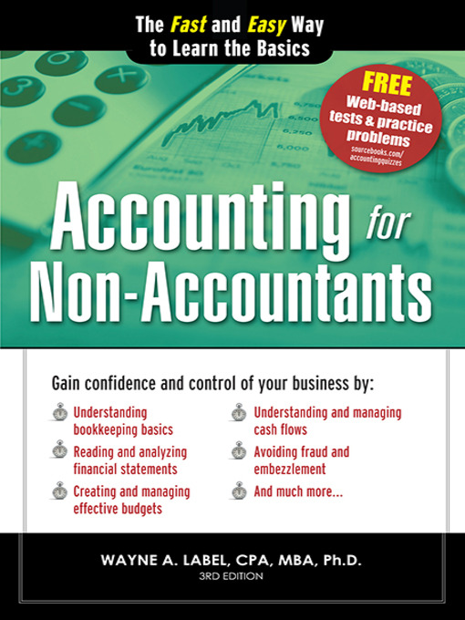 Title details for Accounting for Non-Accountants by Wayne Label - Available