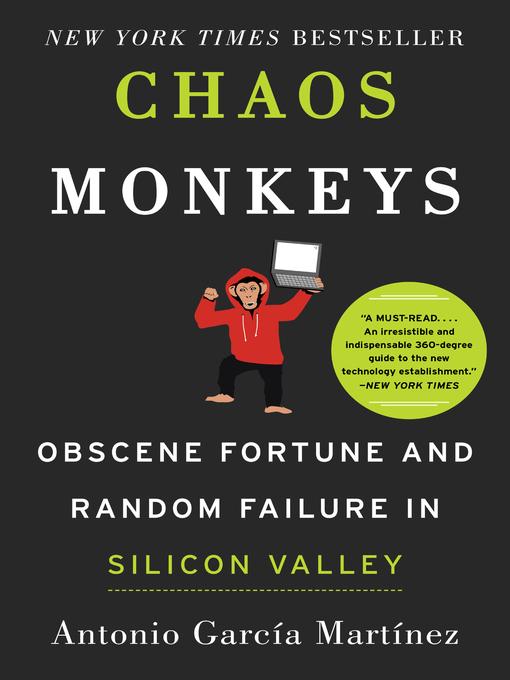 Title details for Chaos Monkeys by Antonio Garcia Martinez - Wait list