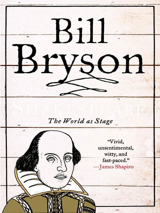 Title details for Shakespeare by Bill Bryson - Wait list