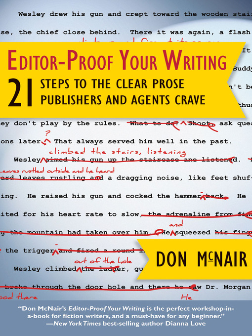 Title details for Editor-Proof Your Writing by Don McNair - Wait list