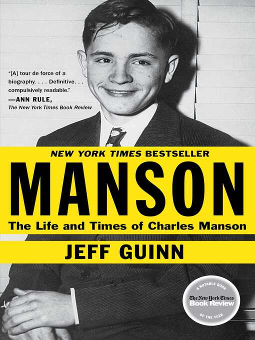 Title details for Manson by Jeff Guinn - Wait list