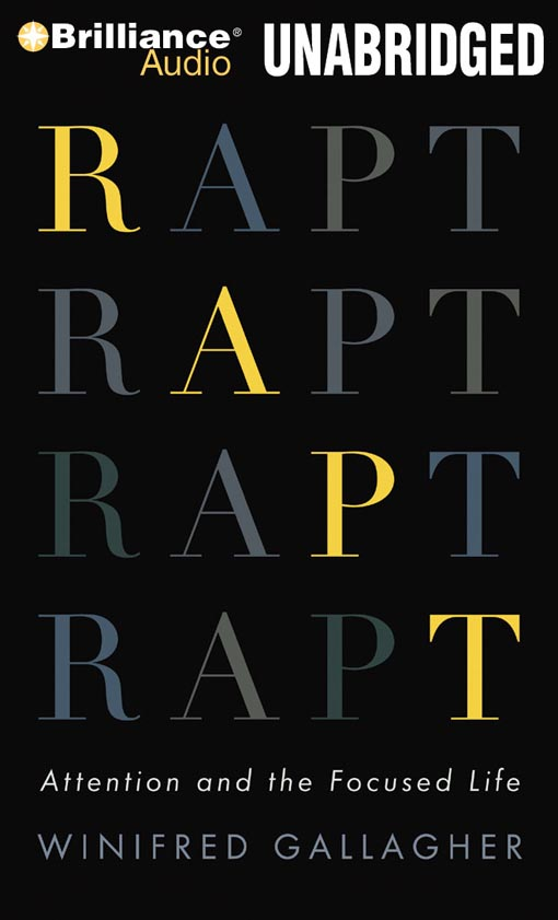 Title details for Rapt by Winifred Gallagher - Wait list