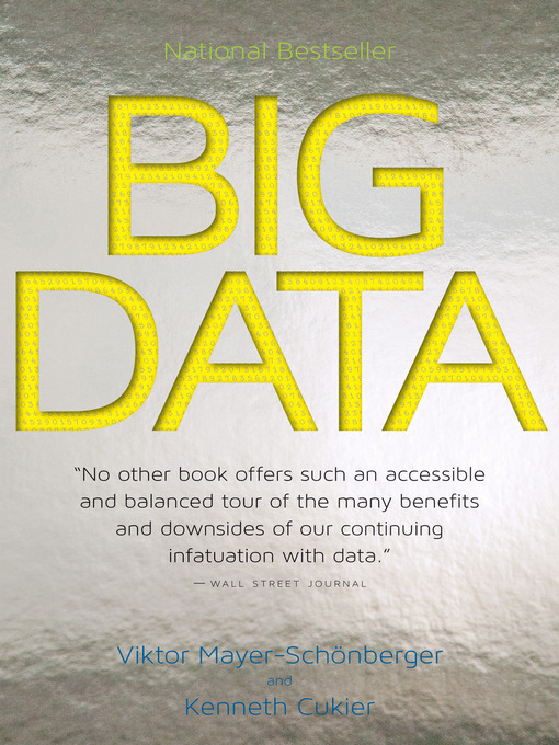 Title details for Big Data by Viktor Mayer-Schönberger - Wait list