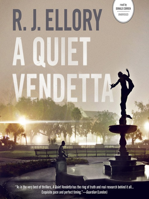 Title details for A Quiet Vendetta by R. J. Ellory - Available
