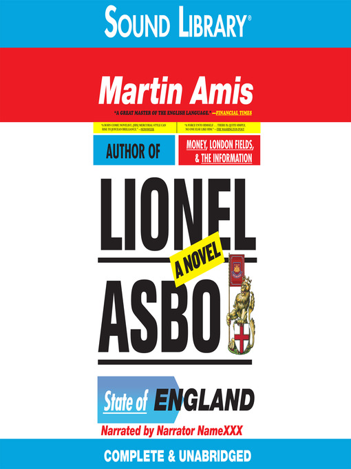 Title details for Lionel Asbo by Martin Amis - Wait list