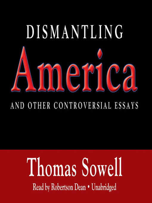 controversial essays sowell