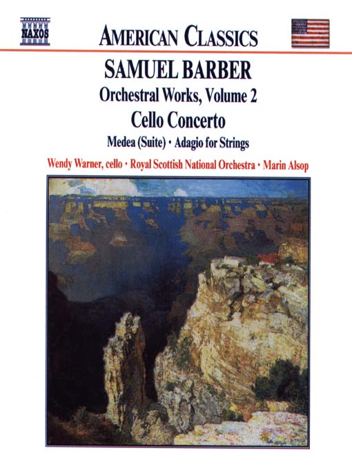 Title details for BARBER: Cello Concerto / Medea Suite / Adagio for Strings by Samuel Barber - Wait list