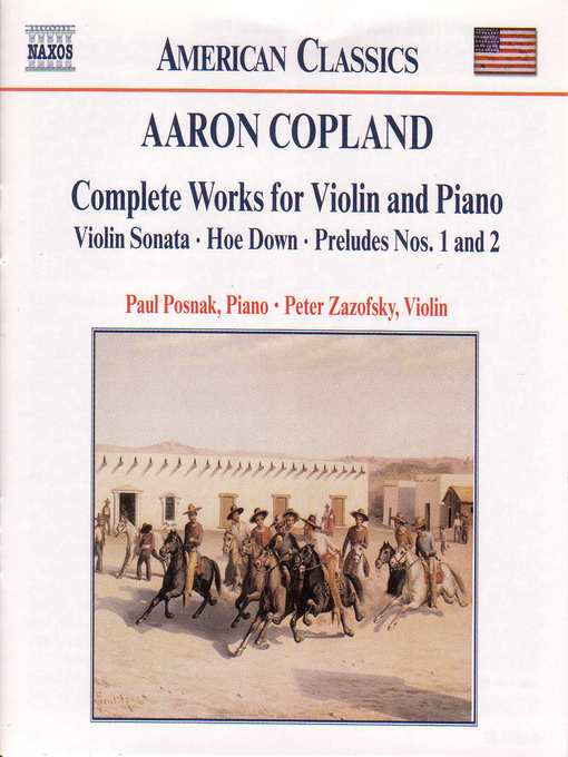 Title details for COPLAND: Works for Violin and Piano (Complete) by Aaron Copland - Wait list
