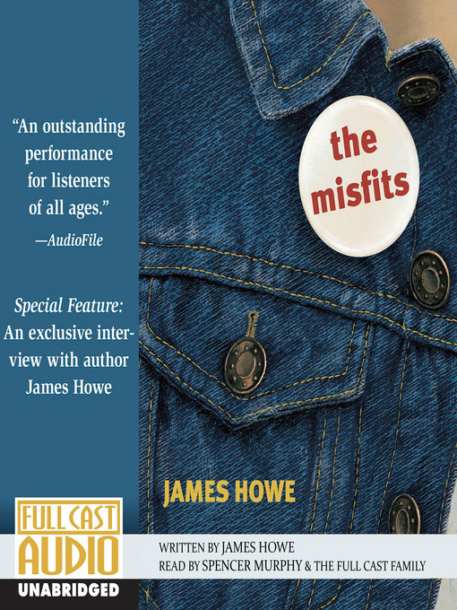 Title details for The Misfits by James Howe - Wait list