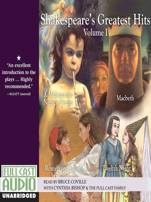 Title details for Shakespeare's Greatest Hits, Volume 1 by Bruce Coville - Available
