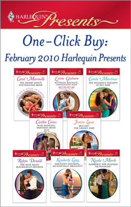 Title details for One-Click Buy: February 2010 Harlequin Presents by Carol Marinelli - Available