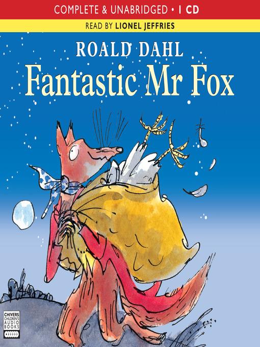 Title details for Fantastic Mr Fox by Roald Dahl - Wait list