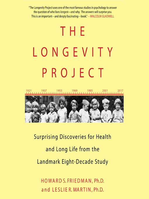 Title details for The Longevity Project by Howard Friedman - Available