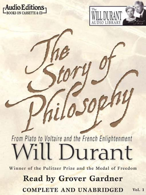 Title details for The Story of Philosophy by William James Durant - Wait list