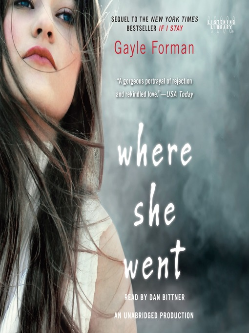 Title details for Where She Went by Gayle Forman - Wait list