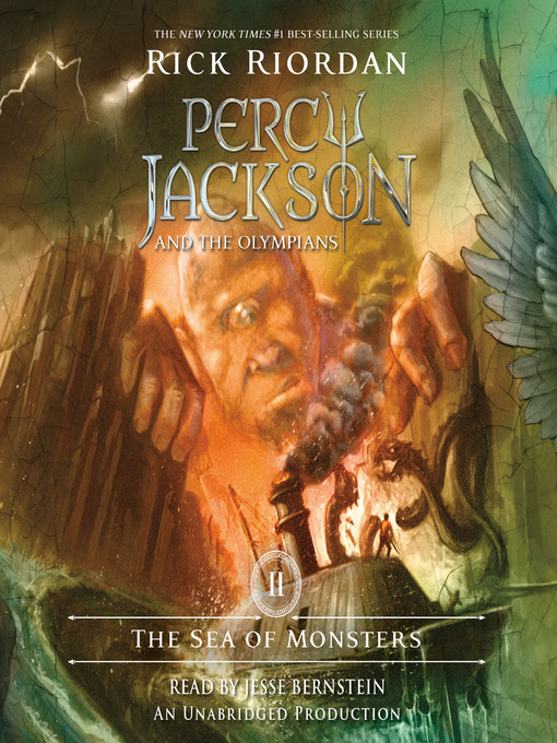 Title details for The Sea of Monsters by Rick Riordan - Wait list
