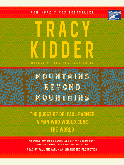 Title details for Mountains Beyond Mountains by Tracy Kidder - Wait list