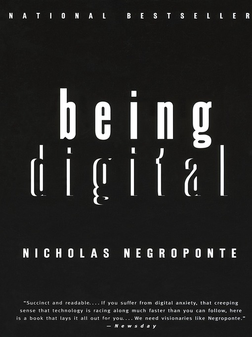 Title details for Being Digital by Nicholas Negroponte - Available
