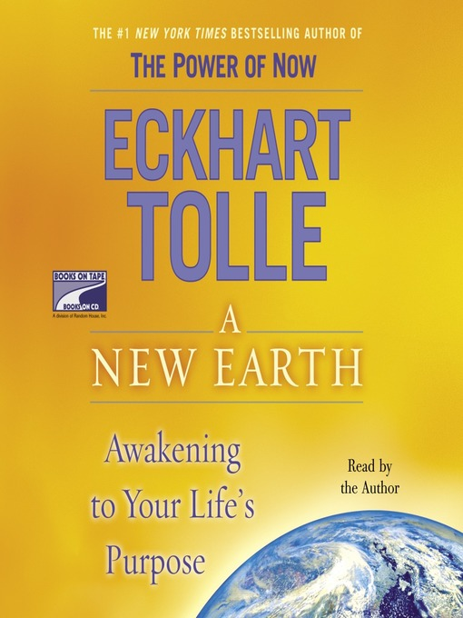 Title details for A New Earth by Eckhart Tolle - Wait list