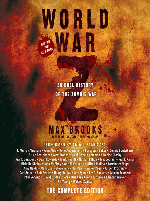 Title details for World War Z by Max Brooks - Available
