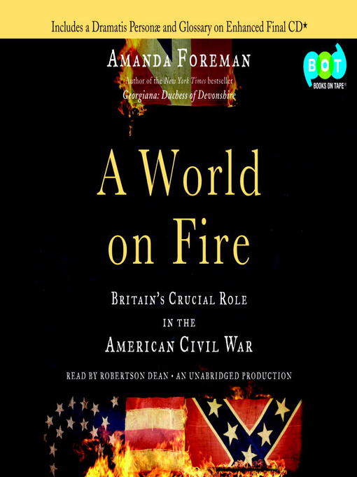 Title details for A World on Fire by Amanda Foreman - Available