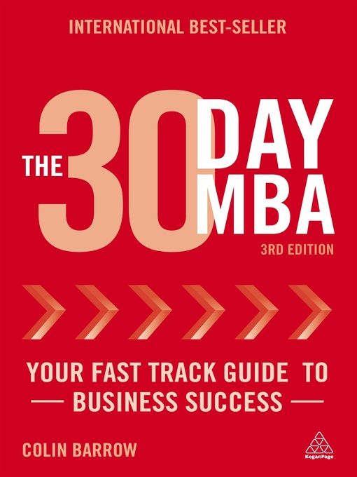 Title details for The 30 Day MBA by Colin Barrow - Available