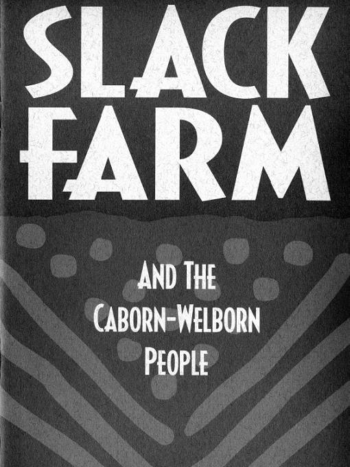 Title details for Slack Farm and the Caborn-Welborn People by David Pollack - Available